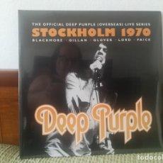 Discos de vinilo: DEEP PURPLE-STOCKHOLM 1970. Lote 214369025