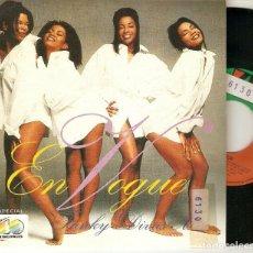 """Discos de vinilo: EN VOGUE 7"""" SPAIN 45 FUNKY DIVAS MIX 1993 SINGLE VINILO ELECTRONIC FUNK NEO SOUL ESP. 40 PRINCIPALES. Lote 214370223"""