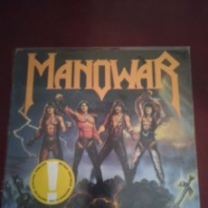 "Discos de vinilo: MANOWAR ""FIGHTING THE WORLD"". Lote 214371332"