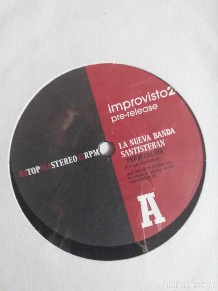 Discos de vinilo: IMPROVISTO 2 NUEVA BANDA SANTIESTEBAN/CANDEIAS LATIN JAZZ GROOVE ESPAÑA 2003 PRE RELEASE NM - Foto 2 - 214372495