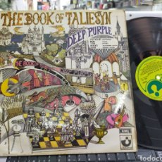 Discos de vinilo: DEEP PURPLE LP THE BOOK OF TALIESYN U.K. 1968 CARPETA DOBLE. Lote 214375673