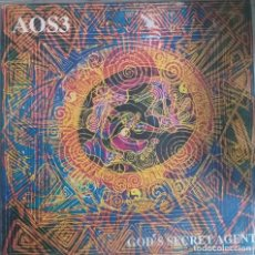 Discos de vinilo: AOS3 GOD'S SECRET AGENT DUB REGGAE SKA ORIGINAL UK 1994 VG++. Lote 214380420