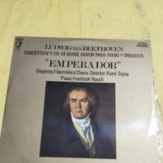 Discos de vinilo: LP BEETHOVEN CONCIERTO N°5. Lote 214388920