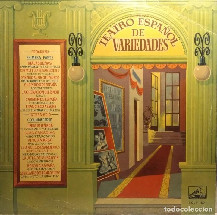 LP VINILO AZUL : CARMEN SEVILLA, DUO DINAMICO, HERMANAS SERRANO, JOSE GUARDIOLA ANTONIO MOLINA ETC (Música - Discos - LP Vinilo - Solistas Españoles de los 50 y 60)