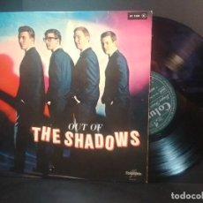 "Discos de vinilo: THE SHADOWS OUT OF THE SHADOWS 10"" FRANCIA 1962 PEPETO TOP. Lote 214393742"