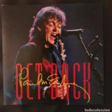 Discos de vinilo: SINGLE PROMOCIONAL ESPAÑOL GET BACK PAUL MCCARTNEY BEATLES. Lote 214406251