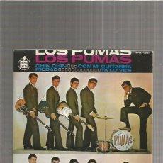 Discos de vinilo: LOS PUMAS CHIN CHIN + 2 REGALOS SORPRESA. Lote 214414330
