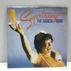 Discos de vinilo: SUPERTRAMP - THE LOGICAL SONG / JUST ANOTHER NERVOUS WRECK - SINGLE 1979. Lote 214422676