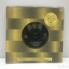 Discos de vinilo: JOHN INMAN - ARE YOU BEING SERVED SIR / WE ALL LOVE CAPTAIN GINGER - SINGLE 1975. Lote 214423003