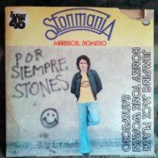 Discos de vinilo: MARISCAL ROMERO – STONMANIA PROMO SPAIN 1978 - CHAPA DISCOS. Lote 214425398