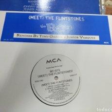 Discos de vinilo: BC-52'S MAXI PROMOCIONALTHE FLINTSTONES 6 VERSIONES 1994 /2. Lote 214430333