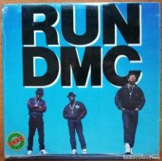 Discos de vinilo: RUN DMC -TOUGHER THAN LEATHER LP PRIMERA EDICIÓN USA - HIP HOP. Lote 214442550
