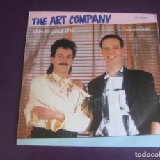 Discos de vinilo: THE ART COMPANY - THIS IS YOUR LIFE / MR.AVERAGE - SG HISPAVOX 1985 - ELECTRONICA DISCO 80'S POP. Lote 214446593