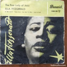 Discos de vinilo: ELLA FITZGERALD WITH ORCHESTRA ?– THE FIRST LADY OF JAZZ (1958) (D:VG+) (EP). Lote 214451490
