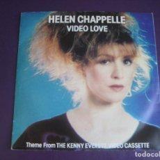 Discos de vinilo: HELEN CHAPPELLE – VIDEO LOVE +1 SG WEA 1981 EDICION INGLESA - SYNTH POP 80'S - TELEVISION SINTONIA. Lote 214452055