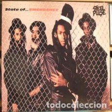 Discos de vinilo: STEEL PULSE - STATE OF EMERGENCY. Lote 214466068