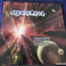 Discos de vinilo: SACRILEGE - TURN BACK TRILOBITE - FRANCE 1989 - UNDER THE FLAG -GATEFOLD. Lote 214467185