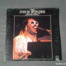 Discos de vinilo: STEVIE WONDER -COLLECTION- 4 LPS BOX SET MOTOWN RECORDS 1982 ED. ESPAÑOLA 2-58.014 BUENAS CONDICION. Lote 214477351