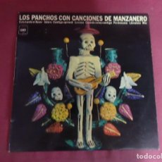 Discos de vinilo: LP, LOS PANCHOS CON CANCIONES DE MANZANERO , VER FOTOS. Lote 214480476
