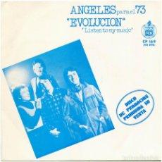 Discos de vinilo: LOS ANGELES – ANGELES PARA EL 73 - SG PROMO SPAIN 1973 - HISPAVOX CP 169 (HS 898. Lote 214489828