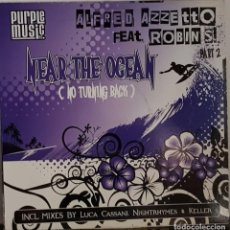 Discos de vinilo: ALFRED AZZETTO FEAT ROBIN´SL.- MEAR THE OCEAN - NO TURING BACK. Lote 214492985