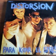 Disques de vinyle: DISTORSIÓN - PAR KITAR EL STRESS ****************** RARO LP ROCK RADIKAL VASCO PUNK 1991. Lote 214493873