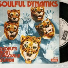 "Discos de vinilo: SOULFUL DYNAMCS 7"" SPAIN 45 COCONUTS FROM CONGOVILLE 1972 SINGLE VINILO FUNK SOUL PROMOCIONAL MIRA !. Lote 214496422"
