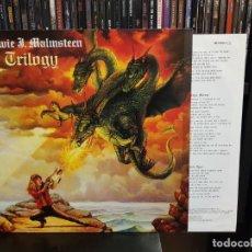 Disques de vinyle: YNGWIE J. MALMSTEEN - TRILOGY. Lote 214496807