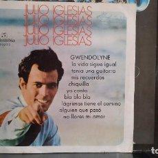 Discos de vinilo: *** JULIO IGLESIAS - GWENDOLYNE - LP AÑO 1970 - LEER DESCRIPCIÓN - CIRCULO DE LECTORES. Lote 214500435