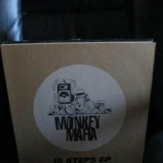 Discos de vinilo: MONKEY MAFIA ?– 15 STEPS EP. Lote 214502922