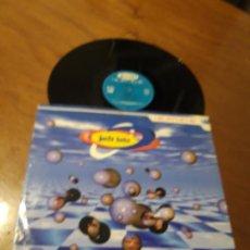 Discos de vinilo: JUST LUIS ?– HEARTACHE-LP-CNR MUSIC ?– 4900171-ESPAÑA-1996-ELECTRONIC,TRANCE. Lote 214503266