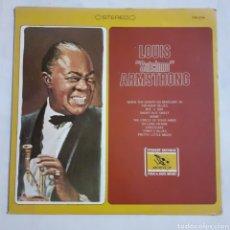 Discos de vinilo: LOUIS ARMSTRONG. COMPILACION. FS-258. USA. DISCO VG++. CARÁTULA VG++.. Lote 214510220