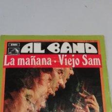 Discos de vinilo: ALBANO - LA MAÑANA / VIEJO SAM (SINGLE ESPAÑOL, EMI 1969). Lote 214514507