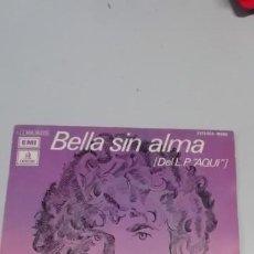 Discos de vinilo: RICHARD COCCIANTE - BELLA SIN ALMA + AQUÍ. Lote 214516558