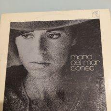 Discos de vinilo: MARIA DEL MAR BONET LP. Lote 214517475