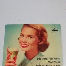 Discos de vinilo: JOSE GUARDIOLA Y SU ORQUESTA - LOS NIÑOS DEL PIREO + TOM PILLIBI + TE DIRAN + PAPA QUIERE A. Lote 214518003