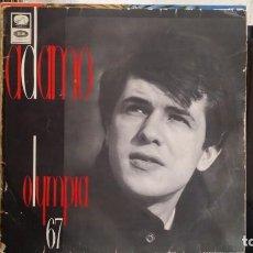 Discos de vinilo: *** ADAMO - OLYMPIA 67 - LP AÑO 1967 - LEER DESCRIPCIÓN. Lote 214523191
