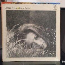 Discos de vinilo: *** MARI TRINI - ESCUCHAME... LP AÑO 1971 (EDICIÓN ORIGINAL) - LEER DESCRIPCIÓN. Lote 214523463
