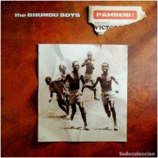 Discos de vinilo: THE BHUNDU BOYS - PAMBERI! - LP EU 1989 - WEA 246 278-1 - AFROBEAT. Lote 214527222