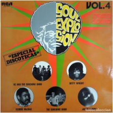 Discos de vinilo: VVAA - SOUL EXPLOSION, VOL. 4 - (MIAMI SOUND) - LP PROMO SPAIN 1975 - RCA VICTOR DXL1-9272. Lote 214529162