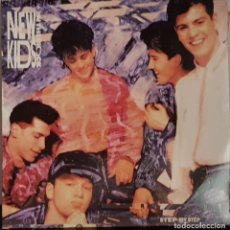 Discos de vinilo: NEW KIDS ON THE BLOCK - STEP BY STEP. Lote 214529943