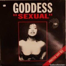 Discos de vinilo: GODDES - SEXUAL - PRACTISE SAFE SEX. Lote 214531083