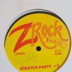 Disques de vinyle: VINILO SCRATCH PARTY #2 AÑOS 80S, MUY RARO!! EEUU ELECTRO TURNTABLISM. Lote 214531721