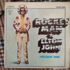 Discos de vinilo: ELTON JOHN - ROCKET MAN. Lote 214532155