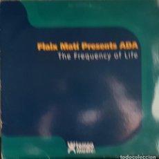 Discos de vinilo: FLAIX MATÍ PRESENTS ADA - THE FRECÇQUENCY OF LIFE. Lote 214532398