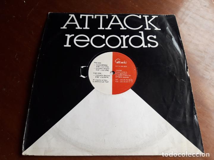 EMMANUEL TOP – TURKICH BAZAR- LP-ATTACK RECORDS – ATT-V-94 002-BELGICA-1994- (Música - Discos - LP Vinilo - Techno, Trance y House)
