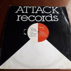 Disques de vinyle: EMMANUEL TOP – TURKICH BAZAR- LP-ATTACK RECORDS – ATT-V-94 002-BELGICA-1994-. Lote 214539332