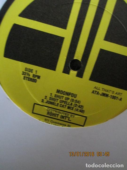 MOONFOU ?– SHUT UP (Música - Discos de Vinilo - Maxi Singles - Techno, Trance y House)