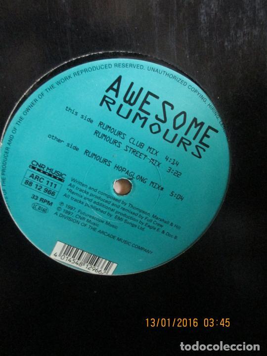 AWESOME (2) ?– RUMOURS (Música - Discos de Vinilo - Maxi Singles - Rap / Hip Hop)