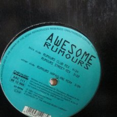 Discos de vinilo: AWESOME (2) ?– RUMOURS. Lote 214553027